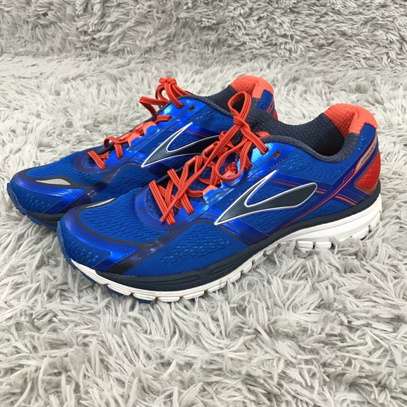6f20d7a26fbaa Brooks Other - Brooks Ghost 8 Mens Running Shoes 11 Blue Orange
